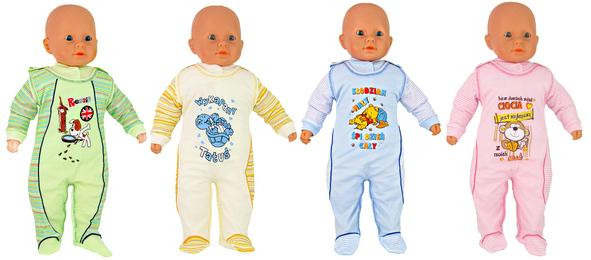 Nowe modele kompletów niemowlęcych