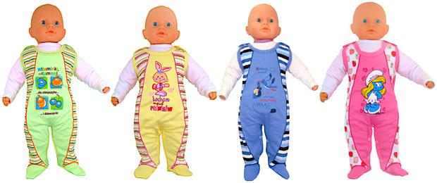 Śpiochy dla niemowląt