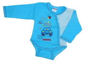 Body niemowlęce krótki rękaw rozpinane koperta rozmiar 62. Miękkie i delikatne w dotyku, niezastąpione w wyprawce niemowlęcej.