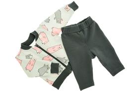 Bluzeczka i Spodenki Dresowe dla Dziewczynki 68