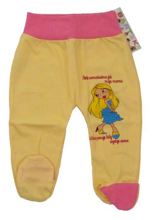 Półśpiochy Dziecięce Bezuciskowe Rozmiar 62, są miękkie i delikatne w dotyku, niezastąpione w wyprawce niemowlęcej.