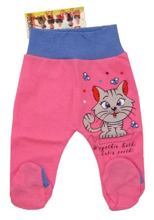 Półśpiochy Dziecięce Bezuciskowe są wykonane z atestowanej polskiej 100% bawełny przez polskiego producenta. Są miękkie i delikatne w dotyku. Niezastąpione w wyprawce niemowlęcej. Półśpioch dla noworodka ma rozmiar 56.