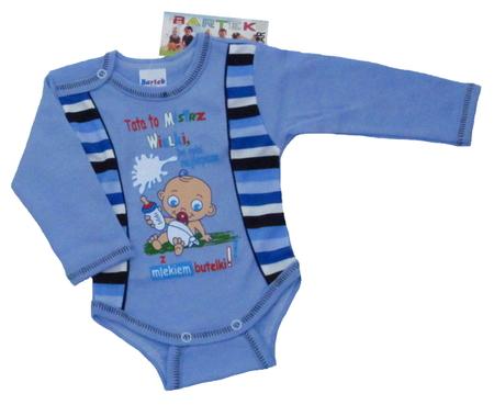 Body dziecięce długi rękaw rozmiar 92, są miękkie i delikatne w dotyku. Niezastąpione w wyprawce niemowlęcej.