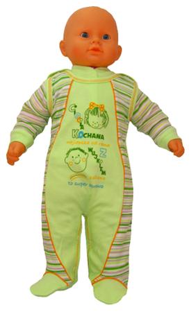 Zielony komplet dziecięcy rozmiar 74