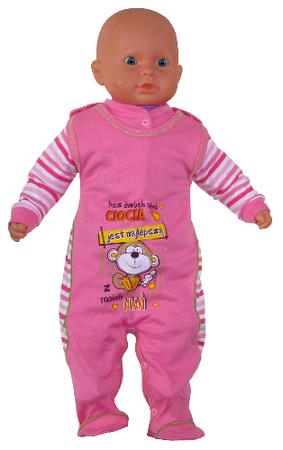 Różowa wyprawka niemowlęca rozmiar 62