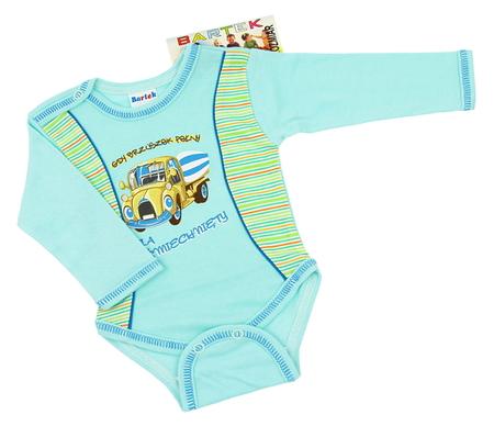 Body niemowlęce długi rękaw rozmiar 68. Są miękkie i delikatne w dotyku, niezastąpione w wyprawce niemowlęcej.