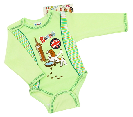 Body niemowlęce długi rękaw rozmiar 104, są miękkie i delikatne w dotyku. Niezastąpione w wyprawce niemowlęcej.