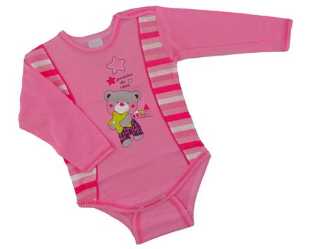 Body niemowlęce długi rękaw rozmiar 98, są miękkie i delikatne w dotyku. Niezastąpione w wyprawce niemowlęcej.