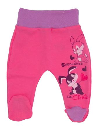 Półśpiochy Dziecięce Bezuciskowe Rozmiar 80, są miękkie i delikatne w dotyku, niezastąpione w wyprawce niemowlęcej.