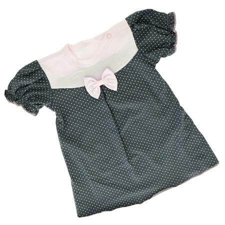 Różowa Sukienka Krótki Rękaw z Kokardą 68 (1)