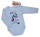 Body niemowlęce długi rękaw rozmiar 86, są miękkie i delikatne w dotyku. Niezastąpione w wyprawce niemowlęcej.