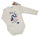 Body niemowlęce długi rękaw rozmiar 80, są miękkie i delikatne w dotyku. Niezastąpione w wyprawce niemowlęcej.