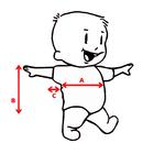 {name} Body niemowlęce krótki rękaw są wykonane z atestowanej polskiej 100% bawełny przez polskiego producenta. Są miękkie i delikatne w dotyku. Niezastąpione w wyprawce niemowlęcej. Body dla noworodka ma rozmiar 56.