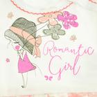 Sukienko Body dla Dziewczynki z Krótkim Rękawem 62 (7)