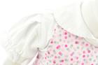 Sukienka Haftowana z Hustą i Body Krótki Rękaw 92 (10)