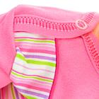 Body Krótki Rękaw dla Dziewczynki Różowe 74 (9)