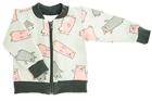 Dziewczęcy Komplet Bluzeczka i Spodenki Dresowe 92 (3)