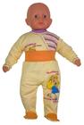 Żółte Półśpiochy Dziecięce Bezuciskowe Rozmiar 68 (7)