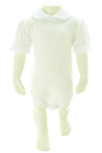 Białe Body i Sukienka z Hustą dla Dziewczynki 80 (10)