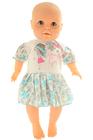 Bawełniane Sukienko Body Krótki Rękaw Nadruk 62 (6)