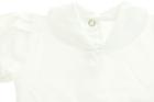 Białe Body z Krótkim Rękawem i Sukienka z Hustą 68 (16)