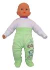 Zielone-Spodenki Dziecięce z Elastycznym Pasem 68 (7)