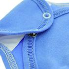 Niebieskie Body Długi Rękaw Rozpinane Kopertowe 62 (9)