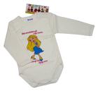 Body niemowlęce długi rękaw rozmiar 74, są miękkie i delikatne w dotyku. Niezastąpione w wyprawce niemowlęcej.