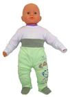 Zielone Półśpiochy Dziecięce Bezuciskowe 62 (6)