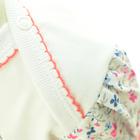 Kolorowe Sukienko Body z Krótkim Rękawem 74 (8)