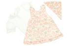 Białe Body i Sukienka z Hustą dla Dziewczynki 80 (11)