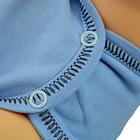 Niebieskie Body Krótki Rękaw Rozpinane Koperta Rozmiar 56 (4)
