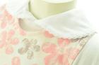 Białe Body i Sukienka z Hustą dla Dziewczynki 80 (13)