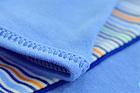Niebieskie Body Długi Rękaw Rozpinane Kopertowe 62 (8)