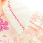 Sukienko Body dla Dziewczynki z Krótkim Rękawem 62 (10)