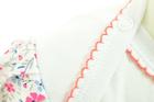 Bawełniane Sukienobody Krótki Rękaw z Nadrukiem 80 (10)