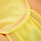 Żółte Body Dziecięce Długi Rękaw Rozmiar 56 (4)