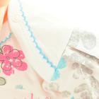 Bawełniane Sukienko Body Krótki Rękaw Nadruk 62 (14)