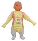 Żółte Body Dziecięce Długi Rękaw w Rozmiarze 86 (7)