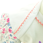 Bawełniane Sukienobody Krótki Rękaw z Nadrukiem 80 (8)