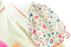 Bawełniane Sukienobody Krótki Rękaw w Kwiatki 80 (10)
